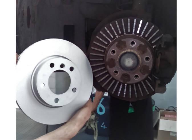 brake disc damage