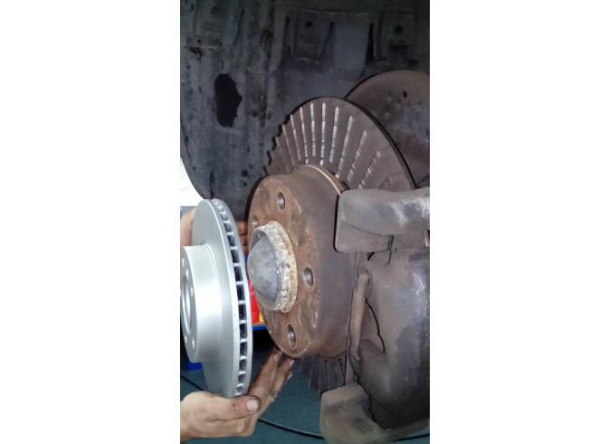 brake discs damage