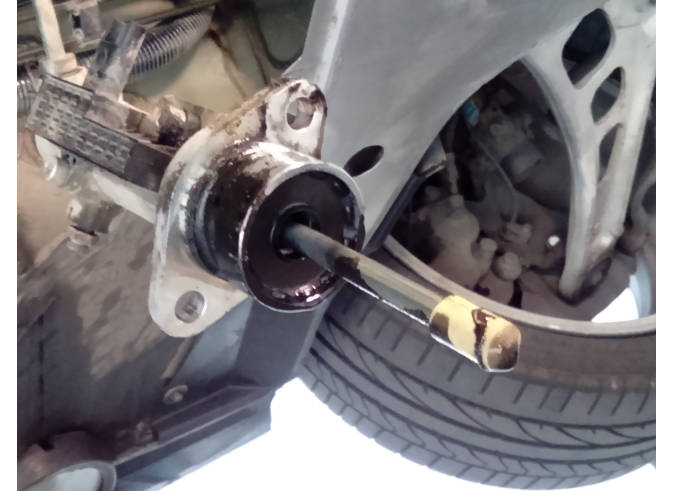 SMG clutch slave cylinder repair