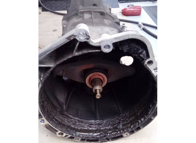 Dual mass flywheel failure